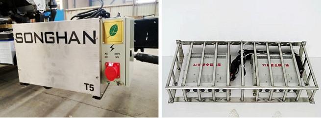 冷藏车外接电源备电系统